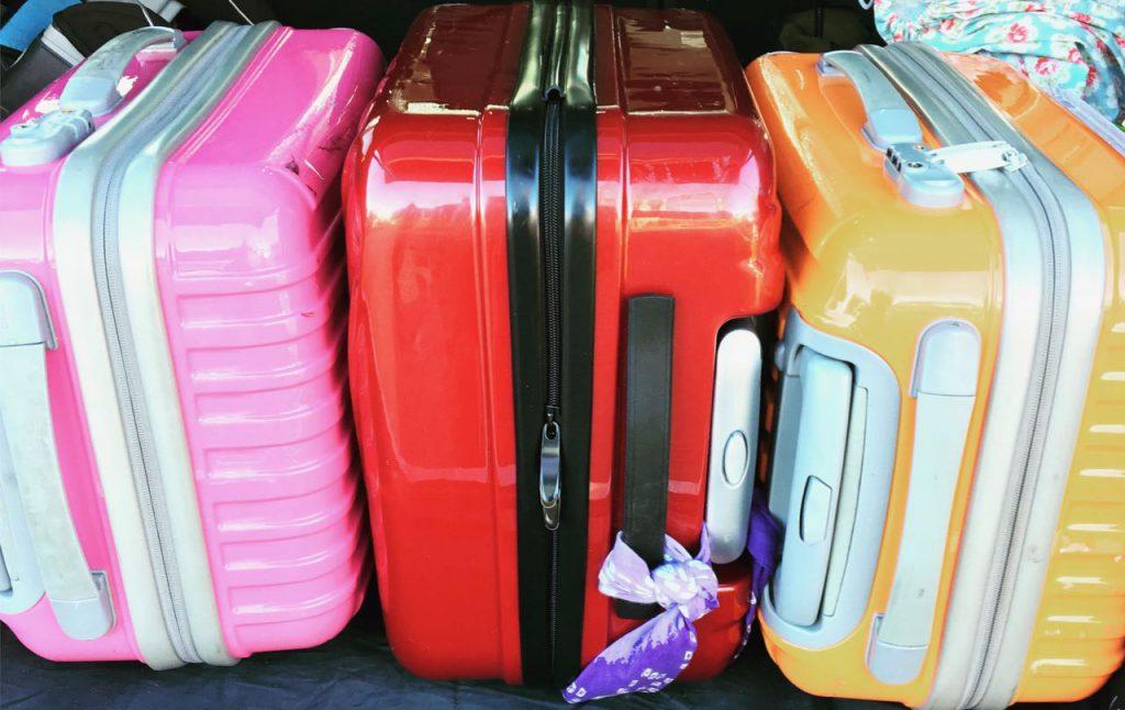 Colorful luggage